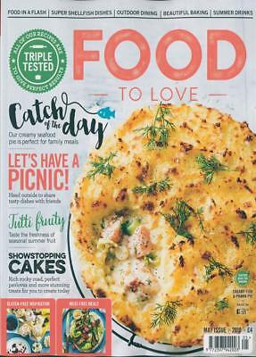 Food To Love Magazine May 2018 ~ New ~