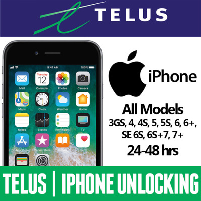 TELUS Koodo Apple iPhone Unlock Service - All Models Clean FAST