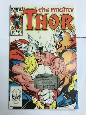 Thor #338 Second Beta Ray Bill VF/NM