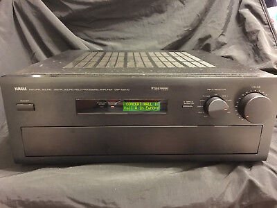 Yamaha DSP-A2070 Digital Sound-Field Processing Amplifier No Remote Home Theater