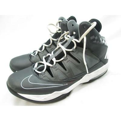 low priced f8ade b166c Nike Air Max Strutter Step Men s Blk White DrkGry MtlcDrkGry Basketball Shoe  11M