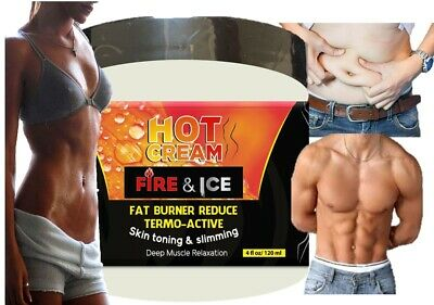 HOT CREAM 8 onz VIENTRE PLANO CREMA REDUCTORA LIPO-GEL REDUCTOR burner GRASA fat