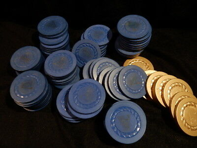"Aladdin ? ""a"" Casino Chip Set (2) Chips.las Vegas"