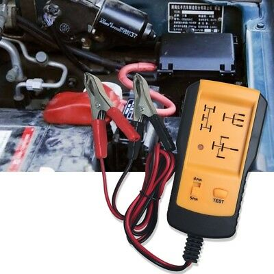 12V Automotive Relay Tester Vehicle Battery Checker-AE100 D3C6