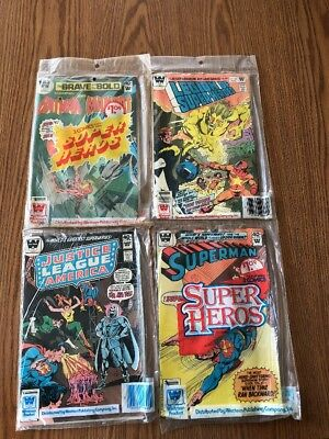 DC Whitman Rare Three Pack Comics 4 -Three Pack Comics See Photos(Great Deal)