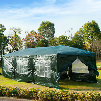 Summer Clearance 10x30ft Party Wedding Tent Gazebo Shelter Portable Green
