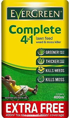Weed Killer 12.6 kg Complete 4-in-1 Lawn Care Bag with 10-17304