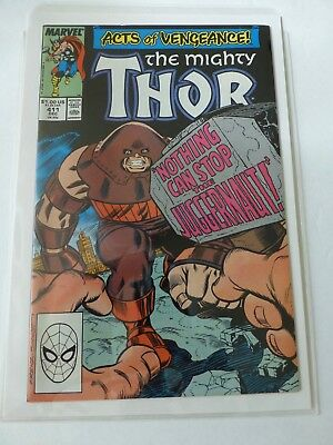 Thor #411  9.4 (Dec 1989, Marvel)