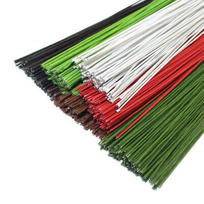 50PCS #22 Paper Covered Wire 0.7mm/0.0275Inch Diameter 40cm Long Iron