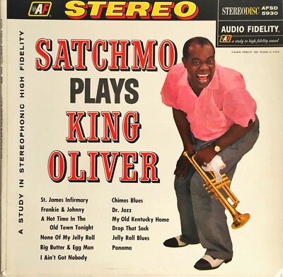 Louis Armstrong - Satchmo Plays...+++Vinyl 200g ++Analogue Productions++NEU++OVP
