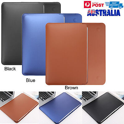 """PU Leather for Apple MacBook Pro MacBook Air 13"""" & 13.3"""" Sleeve Case Skin Cover"""
