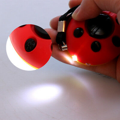 Emergency Self Defense Ladybird Personal Alarm Safety With Battery Attack Device