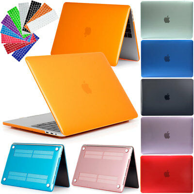 "Laptop Shell Silicone Hard Case Keyboard Cover For Apple Mac MacBook Pro 15"" 13"""