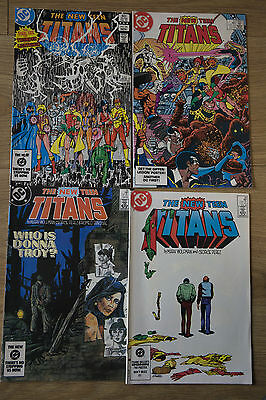 the new teen titans #36#37#38#39