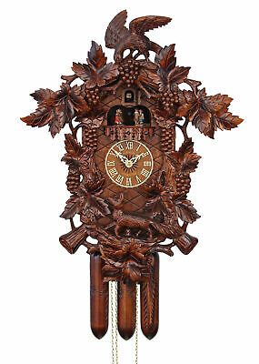 Adolf Herr Cuckoo Clock - The Fox In The Vineyard  AH 621/1 8TMT NEW