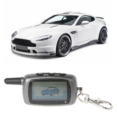 LCD Remote Controller Keychain 2-Way Car Alarm For StarLine A6 Keychain alarm