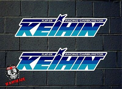 Pegatina Sticker Autocollant Adesivi Aufkleber Decal 2 X Keihin Carburetor