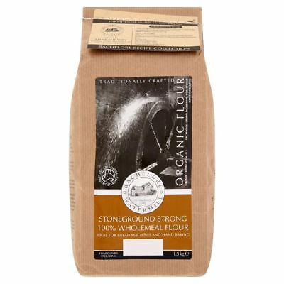 Bacheldre Watermill Wholemeal Organic Flour (1.5Kg) - Pack of 6