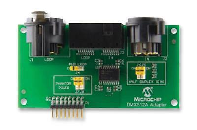 MCU/MPU/DSC/DSP/FPGA Development Kits - ADAPTOR BOARD DMX512A LIGHTING