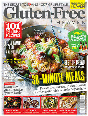 Gluten Free Heaven Magazine June 2018 ~ New ~