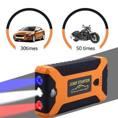 22000mAh 600A Car 12V Vehicle Portable Emergency Jump Starter&Battery Charger PS