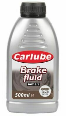 Carlube Synthetic High Performance Based Brake & Clutch Fluid Dot 3 500Ml Bgf050