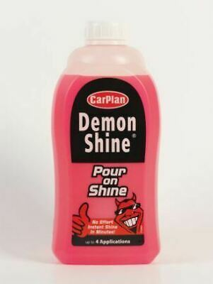 Carplan Demon Shine Pour On Shine In Minutes 4 Applications Care Clean Cds010