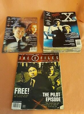 X Files Magazine Issues 2-26 Plus Special Editions Manga