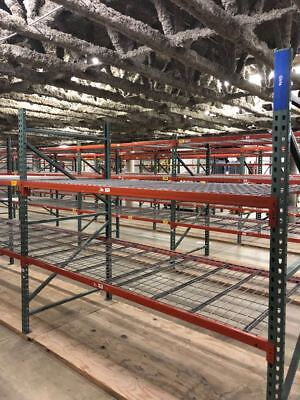 Pallet racks racking shelves storage wearhouse Industrial Heavy Duty 4'x8'Hx8'L