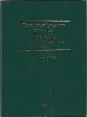 Coin Folder for 1999-2009 State & Territory Quarters LCF3T Album by Littleton