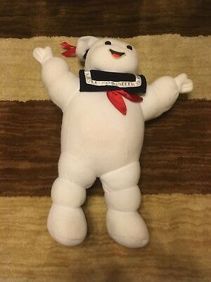 "Kenner 1986 Mr. Stay Puft 16"" Ghostbusters Plush Doll *See Photos* Free Shipping"