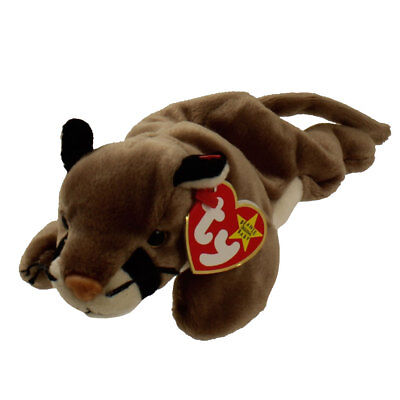 TY Beanie Baby - CANYON The Cougar (1998) RETIRED