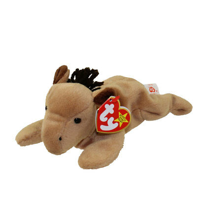TY Beanie Baby - DERBY The Horse (NO Star OR Mane) RETIRED