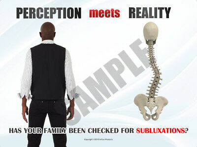 Chiropractic Philosophy Poster Scoliosis