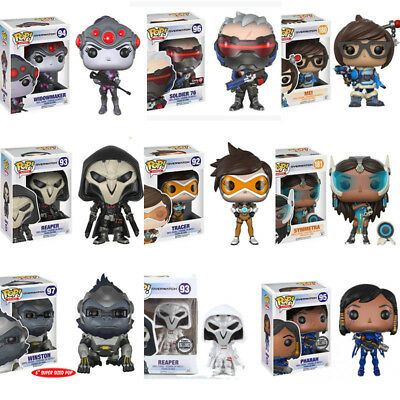 Video Game Overwatch Toy - McCree/Reaper/Widowmaker/Pharah POP Figure Keychain