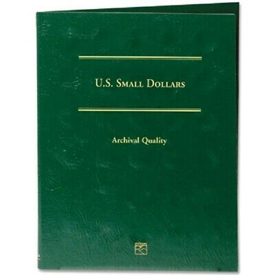Blank Coin Folder for US Small Dollars LCFSD Archival Quality Album by Littleton