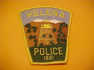 Helena Montana Police Patch  Shoulder Size Unused