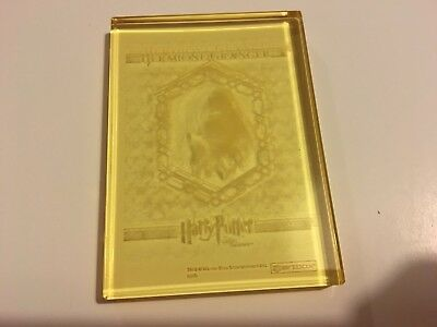 Harry Potter Order Phoenix Update Yellow Crystal Card (Hermione) Rare Chase Card