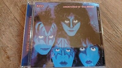 KISS Creatures Of The Night, CD /1982/1997/9 Songs/Remaster/US Logo