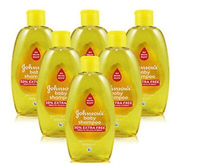 Johnson and Johnson Baby Gold Shampoo  300 ML - 6 PACK ** OFFER PRICE ***