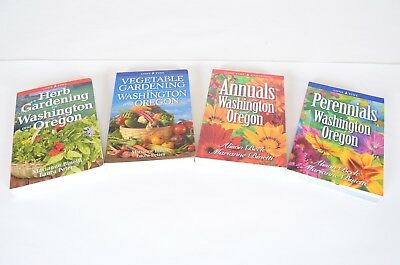 Lone Pine Washington & Oregon Gardening Books Annuals Perennials Vegetables Herb