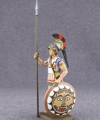 Miniature Figure Toy Greek Spartan 1/32 Hand Painted Ancient Greece Soldier 54mm