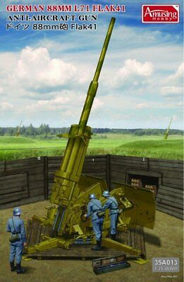 Neuheit !  Amusing Hobby  8,8 Cm L/71 Flak With Bonus In 1/35