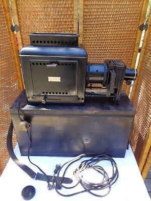 Antique Balopticon Bausch & Lomb Optical Co. Model C Projector Perkins Snap Swit