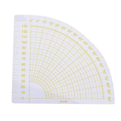 tailor sewing tools quilting patchwork scrapbook circle fan foot seam ruler diyW