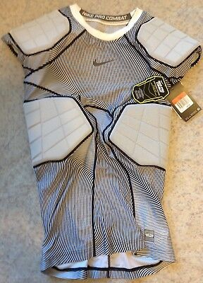 26c1b6dd Nike Pro Combat Hyperstrong 4-pad Football Compression Shirt; Large,  808773, $85