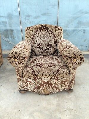 Pair Of 1920 Club Chairs