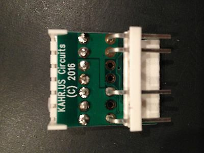 WPC MPU Power Fix Circuit add-on daughterboard - 2017 edition!