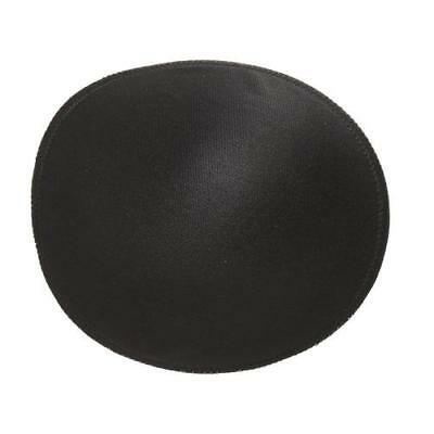 BIRCH -  Beauty Form round Bra Pad Inserts. -BLACK  1 PAIR