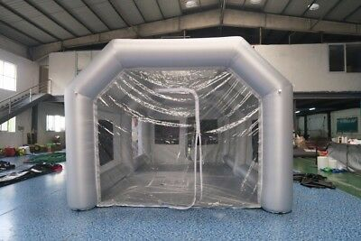 XL Portable Inflatable Paint Booth From USA 5x8x3.5 Meters SHIPS FAST FROM USA